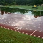 Swarthmore College swim track