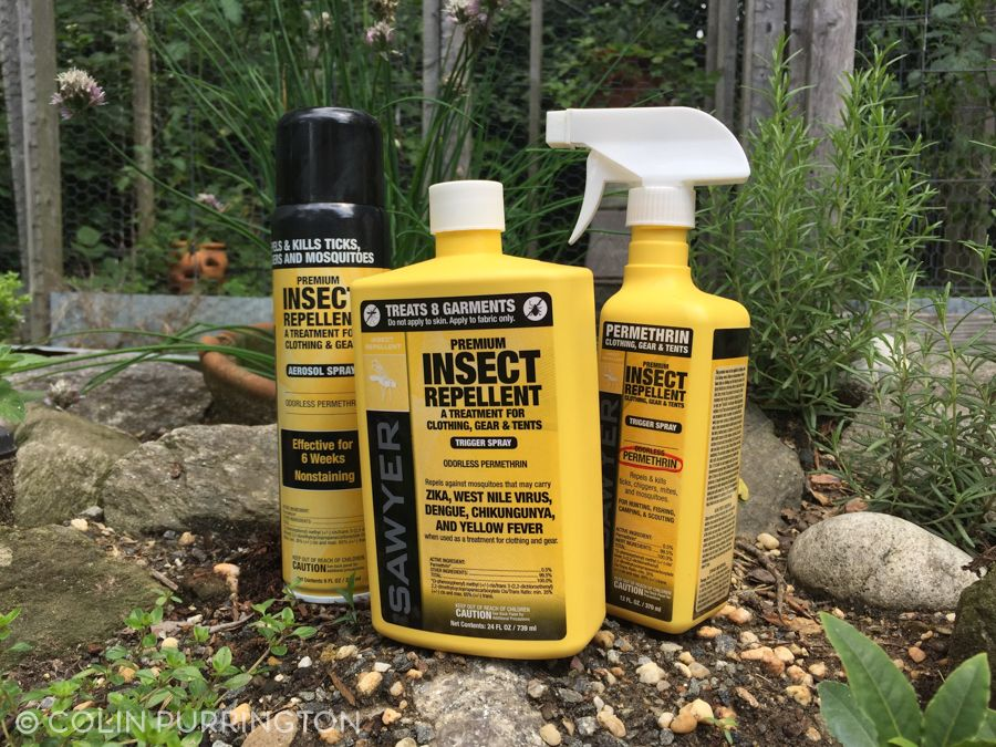 Permethrin spray