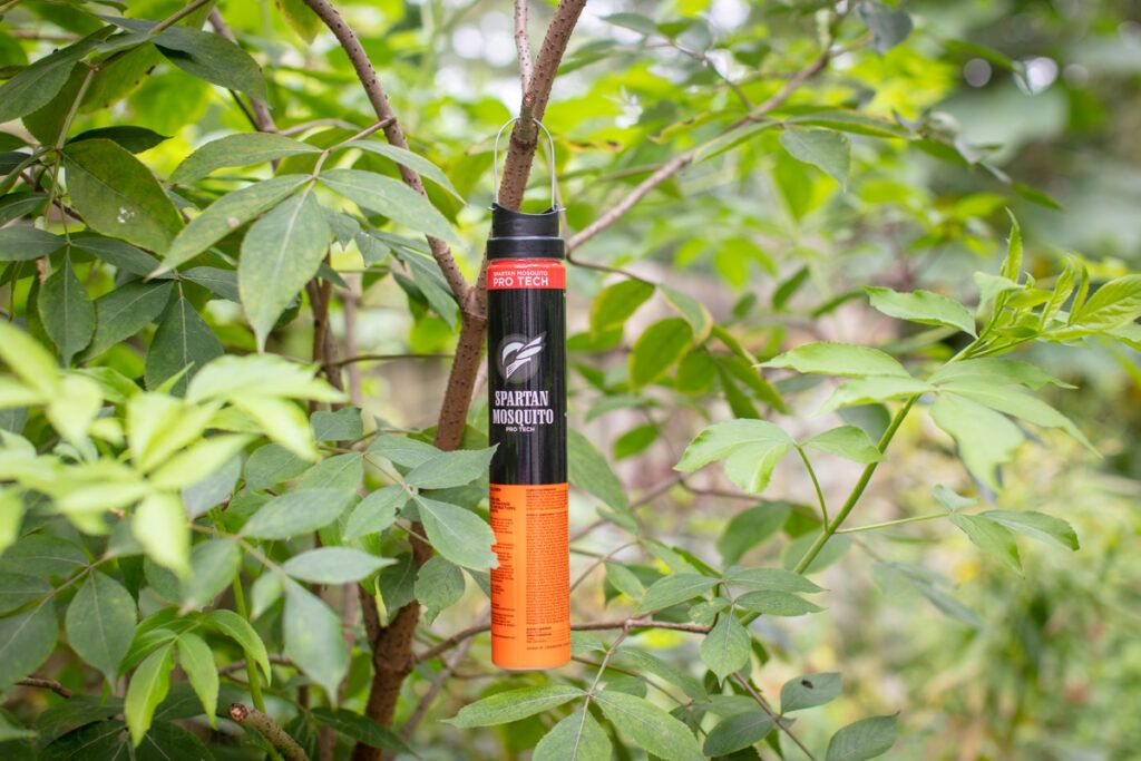 Spartan Mosquito Pro Tech hanging in tree